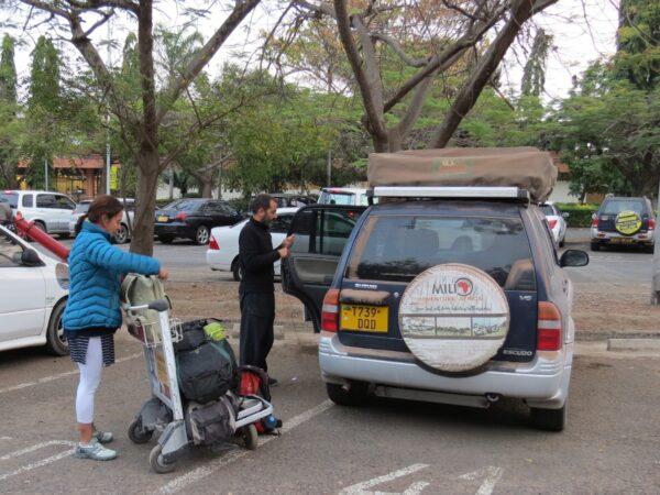 drive in tanzania-africa