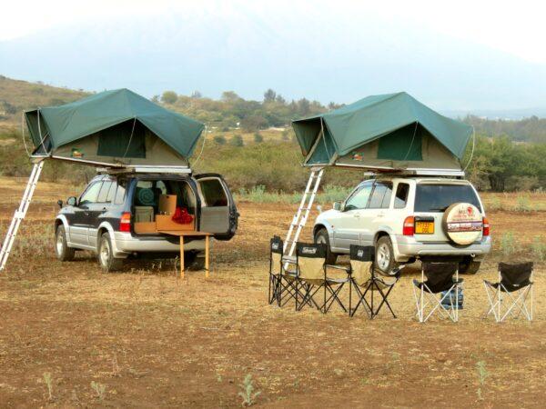 Tanzania camping safari: Hire quality camping gears for road trip